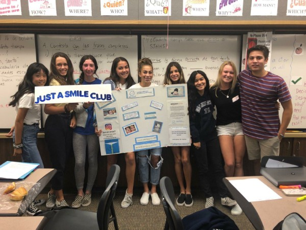 Just A Smile welcomes San Juan Hills High School